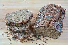Chrono bread with seeds Stock Photo