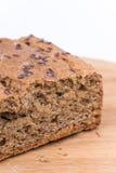 Chrono Brot der Nahaufnahme über weißem Hintergrund Stockfotos