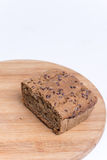 Chrono homemade bread with copy space.  Stock Image