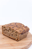 Chrono homemade bread with copy space.  Stock Images