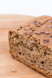 Chrono homemade bread with copy space.  Royalty Free Stock Photography