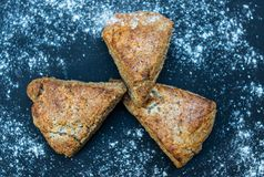 Chrono, organic, diet bread. Fresh hand-made chrono diet bread Stock Photography