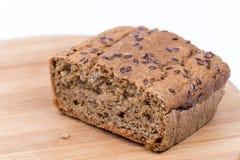 Chrono- pain fait maison avec l'espace de copie Photo stock