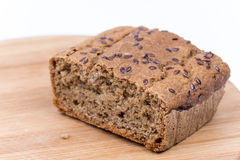 Chrono selbst gemachtes Brot mit Kopienraum Stockfoto