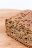 Chrono selbst gemachtes Brot mit Kopienraum Lizenzfreie Stockfotografie