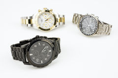 Chronografów zegarki Obraz Stock