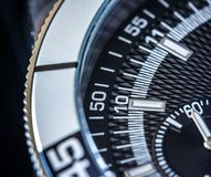 Chronograph CloseUp Royalty Free Stock Photo