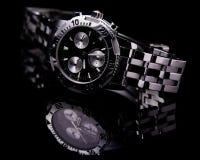 chronographsportwatch Arkivfoton