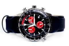 Chronography-Armbanduhr Stockfotos