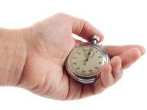 Chronomètre à disposition Image stock