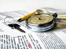 Chronomètre. Image stock