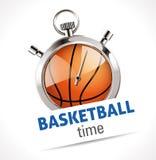 Chronomètre - basket-ball de sport Photos libres de droits