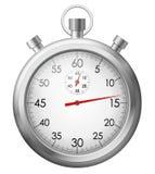 Chronomètre de chrome Photos libres de droits