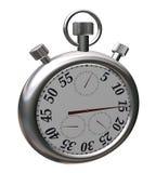 Chronomètre de sport de chrome Images libres de droits