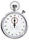 Chronomètre de tête de vecteur Image stock