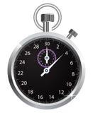Chronomètre de vecteur Photographie stock libre de droits