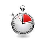 Chronomètre de vecteur, illustration réaliste Photos stock