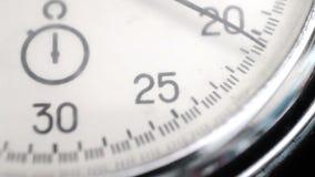 Chronomètre de vintage banque de vidéos