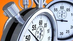 Chronomètre et temps Image libre de droits