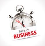 Chronomètre - heure pour des affaires Images stock