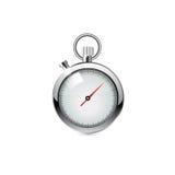 Chronomètre, illustration réaliste Image libre de droits