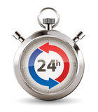 Chronomètre - la livraison rapide Photo libre de droits