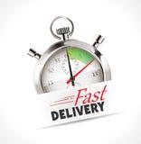 Chronomètre - la livraison rapide Photo stock