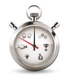 Chronomètre - succès Photographie stock libre de droits