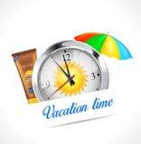 Chronomètre - temps de vacances Photographie stock