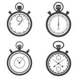 Chronomètres et chronomètres Illustration Libre de Droits