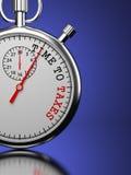 Chronométrez aux impôts le concept. Photographie stock