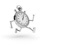 Chronometer die loopt Stock Afbeelding