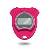 chronometer Een ski Vector stock illustratie