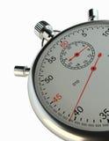 chronometer Geïsoleerd op wit Stock Afbeelding