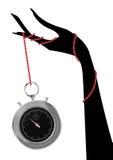Chronometer hand Stock Photo