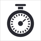 Chronometer icon Royalty Free Stock Images