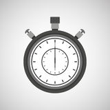 Chronometer icon design Royalty Free Stock Photography