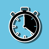 Chronometer icon design Royalty Free Stock Images