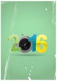 2016 chronometer Royalty Free Stock Photo