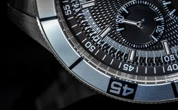 Chronometer Macro Stock Images