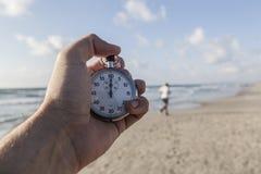 Chronometer and Sea Stock Image