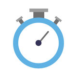 Chronometer timer isolated icon Royalty Free Stock Images