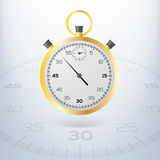 Chronometer. Vectorillustratie. Stock Foto's