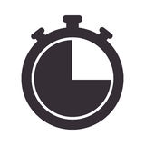 Chronometer watch  icon Stock Image