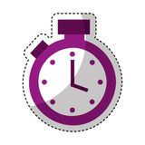Chronometer watch isolated icon Royalty Free Stock Photography