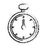 Chronometer watch isolated icon Royalty Free Stock Photos