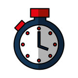 Chronometer watch isolated icon Stock Photo