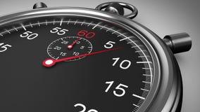 Chronometertiming op witte achtergrond vector illustratie