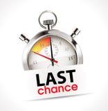 Chronomètre - dernière occasion Images stock