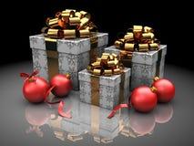 Chrsitmas presents Royalty Free Stock Image